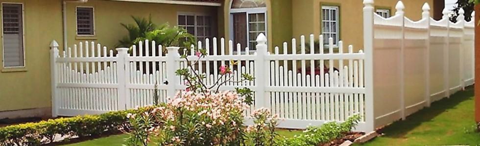 Jamaica uPVC Fencing Provider